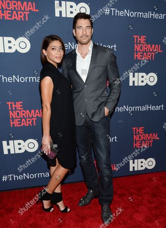 "Editorial picture of NY Premiere of ""The Normal Heart"", New York, USA"