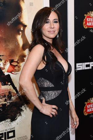 """Lora Martinez-Cunningham attends a special screening of """"Sicario"""" at The Museum of Modern Art, in New York"""