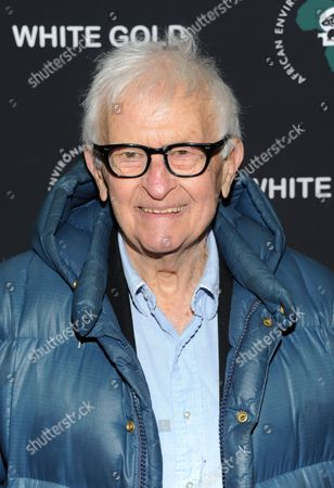 "Filmmaker Albert Maysles attends a special screening of ""White Gold"" at the Museum of Modern Art on in New York"