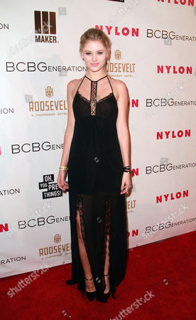 Ginny Gardner arrives at The Annual May Young Hollywood Issue Party at The Hollywood Roosevelt Hotel, in Los Angeles