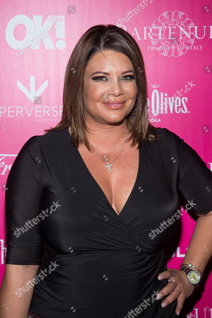 Stock Photo of Karen Gravano attends OK! Magazine's So Sexy Party at Tao Downtown, in New York
