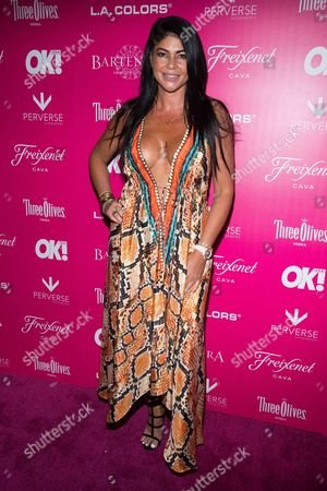 Alicia DiMichele attends OK! Magazine's So Sexy Party at Tao Downtown, in New York