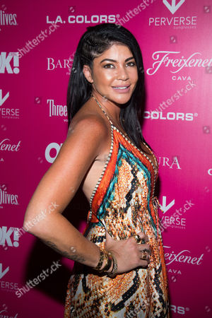 Stock Photo of Alicia DiMichele attends OK! Magazine's So Sexy Party at Tao Downtown, in New York