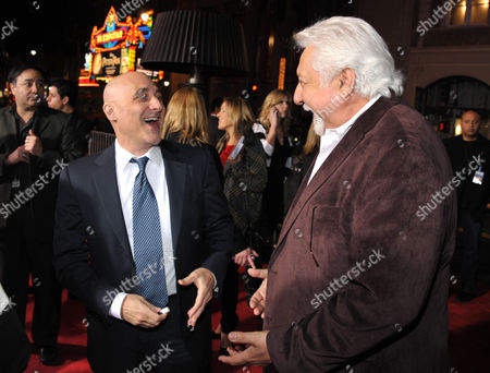 """Stock Photo of Warner Brothers' Jeff Robinov, and Michael Tadross attend the LA premiere of """"Gangster Squad"""" at Grauman's Chinese Theater, in Los Angeles"""