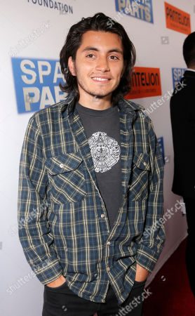 """Jose Julian attends the Los Angeles Premiere of Pantelion Films' """"Spare Parts"""" at Arclight Cinemas, in Los Angeles"""