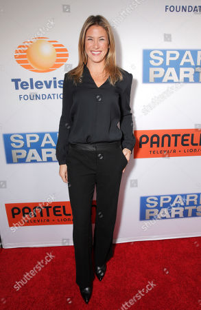 """Stock Picture of Jessica Lindsey attends the Los Angeles Premiere of Pantelion Films' """"Spare Parts"""" at Arclight Cinemas, in Los Angeles"""