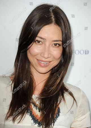 Mei Melancon arrives at the Project Angel Food's 2013 Angel Awards on in Los Angeles