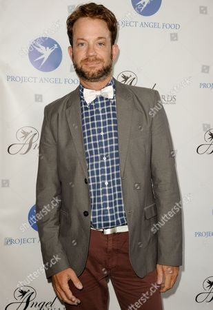 Stock Picture of Sam Pancake arrives at the Project Angel Food's 2013 Angel Awards on in Los Angeles