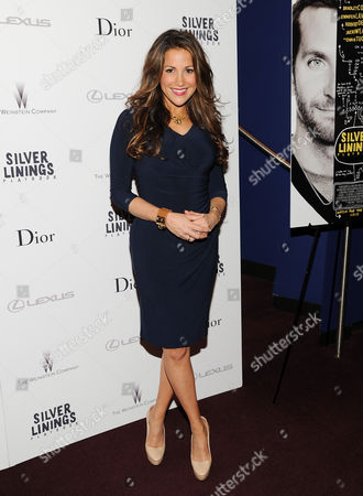 "Gigi Stone attends a special screening of ""Silver Linings Playbook"" hosted by Dior at Florence Gould Hall on in New York"