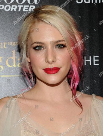 """Actress Casey LaBow attends a special screening of """"The Twilight Saga: Breaking Dawn - Part 2"""" hosted by The Cinema Society and The Hollywood Reporter on in New York"""