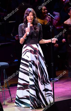 """Singer Natalie Cole performs at """"An Evening of SeriousFun Celebrating the Legacy of Paul Newman,"""" hosted by the SeriousFun Children's Network at Avery Fisher Hall, in New York"""