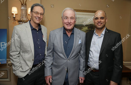 EXCLUSIVE CONTENT - PREMIUM RATES APPLY Executive Producer David Gelber, Executive Producer Jerry Weintraub and Executive Producer/Climate Expert Daniel Abbasi seen at Showtime's 2014 Winter TCA, on in Pasadena, Calif
