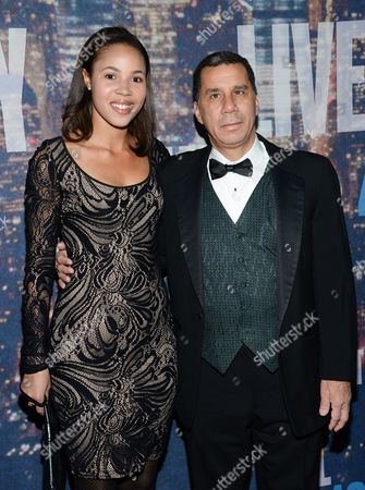 David Paterson attends the SNL 40th Anniversary Special at Rockefeller Plaza, in New York