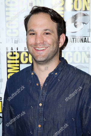 "Showrunner Craig DiGregorio, from the STARZ original series ""Ash vs Evil Dead"", poses for a photo at San Diego Comic-Con on in San Diego"