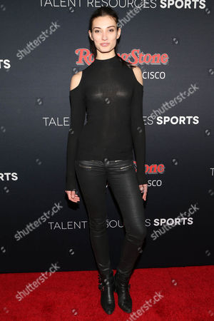 Stock Photo of Dana Taylor arrives at the Super Bowl 50 Rolling Stone Party at The Galleria at the San Francisco Design Center, in San Francisco