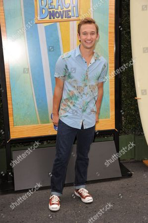 """Kent Boyd attends the """"Teen Beach Movie"""" screening e at event at The Walt Disney studios on in Burbank, Calif"""