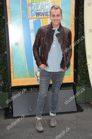 """Stock Photo of William Loftis attends the """"Teen Beach Movie"""" screening e at event at The Walt Disney studios on in Burbank, Calif"""