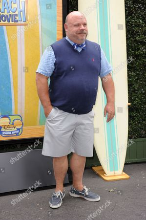 "Kevin Chamberlin attends the ""Teen Beach Movie"" screening e at event at The Walt Disney studios on in Burbank, Calif"