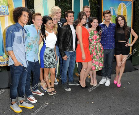 Editorial picture of Teen Beach Movie Screening Event, Burbank, USA