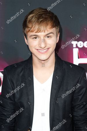 Actor Lucas Cruikshank arrives at the TeenNick HALO Awards at the Hollywood Palladium, in Los Angeles