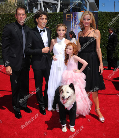 Editorial photo of Television Academy's 2014 Creative Arts Emmy Awards - Arrivals, Los Angeles, USA