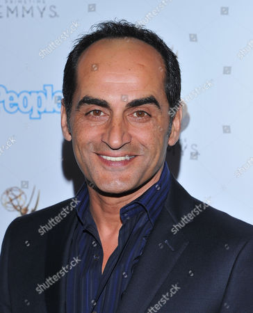 SEPTEMBER 21: David Negahban attends the Television Academy's 64th Primetime Emmy Awards Performers Nominee Reception at the Pacific Design Center on in West Hollywood, California