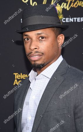 Cornelius Smith Jr. arrives at the Television Academy's 70th Anniversary Gala and Opening Celebration for its new Saban Media Center, in the NoHo Arts District in Los Angeles
