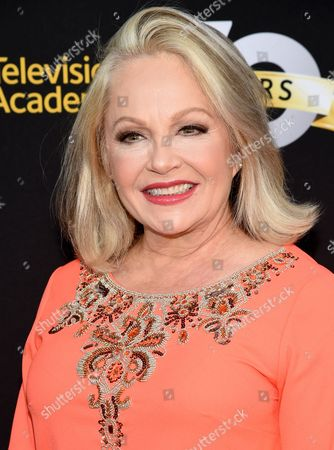 Charlene Tilton arrives at the Television Academy's 70th Anniversary Gala and Opening Celebration for its new Saban Media Center, in the NoHo Arts District in Los Angeles