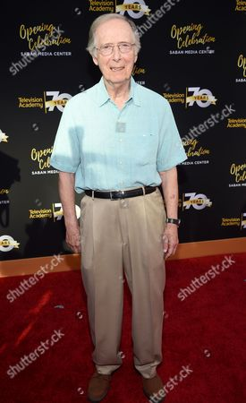 Bernie Kopell arrives at the Television Academy's 70th Anniversary Gala and Opening Celebration for its new Saban Media Center, in the NoHo Arts District in Los Angeles
