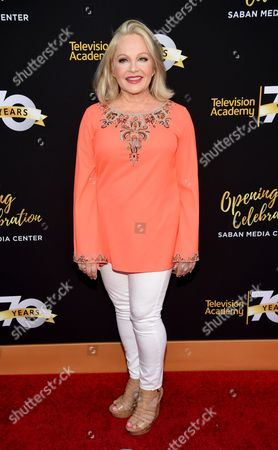 Charlene Tilton arrives at the Television Academy 70th Anniversary Gala and Opening Celebration for its new Saban Media Center, in the NoHo Arts District in Los Angeles