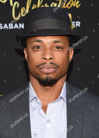 Cornelius Smith Jr. arrives at the Television Academy 70th Anniversary Gala and Opening Celebration for its new Saban Media Center, in the NoHo Arts District in Los Angeles