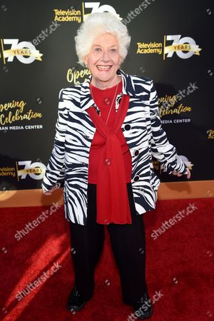 Charlotte Rae arrives at the Television Academy 70th Anniversary Gala and Opening Celebration for its new Saban Media Center, in the NoHo Arts District in Los Angeles