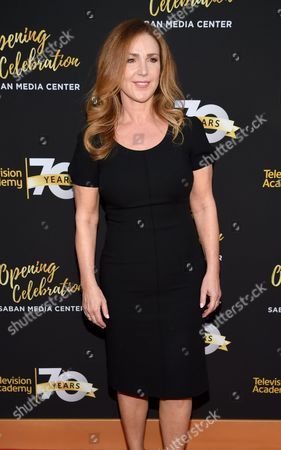 Peri Gilpin arrives at the Television Academy 70th Anniversary Gala and Opening Celebration for its new Saban Media Center, in the NoHo Arts District in Los Angeles