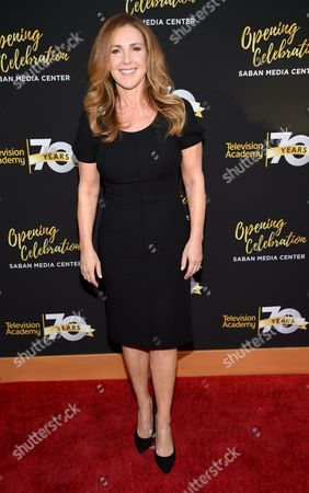 Peri Gilpin arrives at the Television Academy's 70th Anniversary Gala and Opening Celebration for its new Saban Media Center, in the NoHo Arts District in Los Angeles
