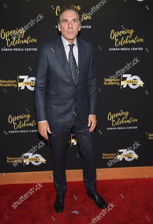 Michael Richards arrives at the Television Academy's 70th Anniversary Gala and Opening Celebration for its new Saban Media Center, in the NoHo Arts District in Los Angeles
