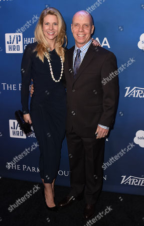 Tracie Hamilton and Scott Hamilton arrive at the 5th Annual Sean Penn & Friends HELP HAITI HOME Gala Benefiting at the Montage Hotel on in Beverly Hills, Calif
