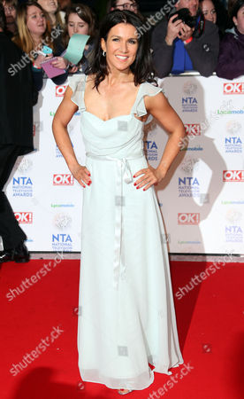 Stock Image of Susannah Reid at the National Television Awards, held at the O2 Arena, London, on