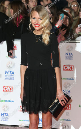 Hetti Bywater at the National Television Awards, held at the O2 Arena, London, on