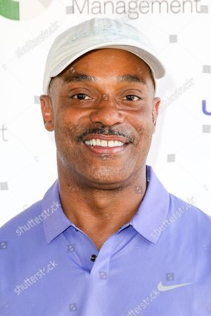 Rocky Carroll arrives at The Screen Actors Guild Foundation 6th Annual Los Angeles Golf Classic, in Burbank, Calif