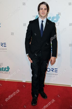 Steven R. McQueen arrives at The Thirst Project's Annual Gala held at the Beverly Hilton Hotel, in Los Angeles