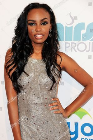 Lauryn McClain arrives at The Thirst Project's Annual Gala held at the Beverly Hilton Hotel, in Los Angeles