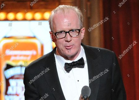 Actor Tracy Letts speaks at the 67th Annual Tony Awards in New York. Producers said Thursday, July 25, that Letts will reunite with director Pam MacKinnon next year for the Broadway premiere of Killer Joe, his work about a meticulously smooth Dallas police detective with a side business as a hit man