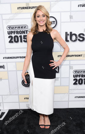 Actress Elizabeth Masucci attends the Turner Network 2015 Upfront at Madison Square Garden, in New York