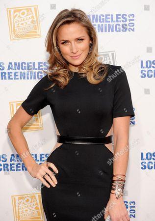 Editorial picture of Twentieth Century Fox Television Distribution's 2013 LA Screenings Lot Party - Arrivals, Los Angeles, USA