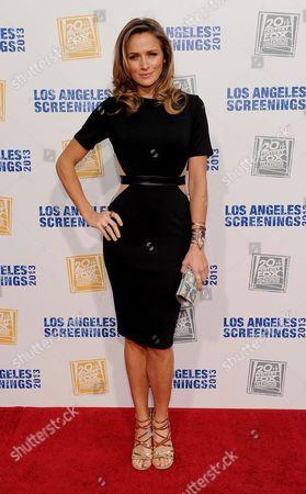 Editorial photo of Twentieth Century Fox Television Distribution's 2013 LA Screenings Lot Party - Arrivals, Los Angeles, USA