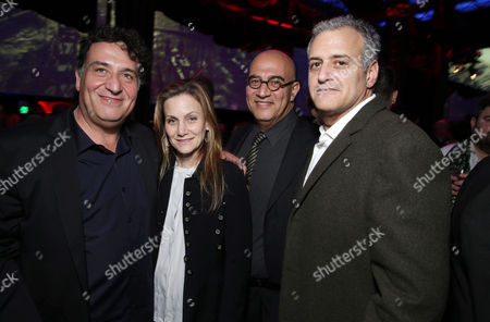 Director Noam Murro, Melisa Wallack, Producers Gianni Nunnari and Bernie Goldmann seen at Warner Bros. Premiere of 300: Rise of An Empire, on Tuesday, March, 4, 2014 in Los Angeles
