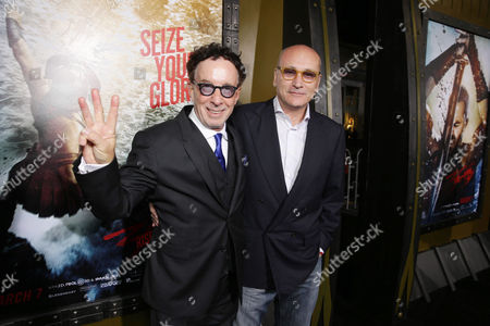 Producers Mark Canton and Gianni Nunnari seen at Warner Bros. Premiere of 300: Rise of An Empire, on Tuesday, March, 4, 2014 in Los Angeles