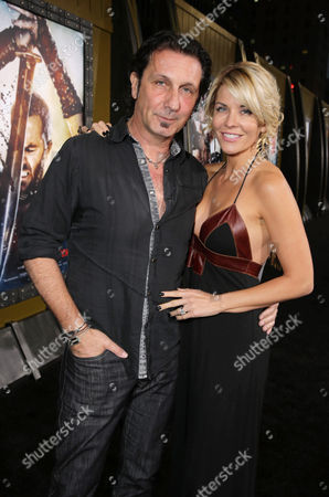 Patrick Tatopoulos and McKenzie Westmore seen at Warner Bros. Premiere of 300: Rise of An Empire, on Tuesday, March, 4, 2014 in Los Angeles