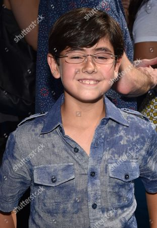 """Blake Garrett Rosenthal seen at the Los Angeles Premiere of Warner Bros. Pictures' and Alcon Entertainment's """"Dolphin Tale 2"""" held at the Regency Village Theatre, Westwood, Calif"""