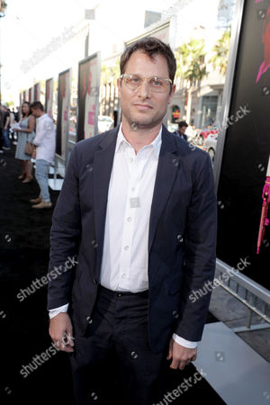 """Stock Image of Writer Jason Smilovic seen at Warner Bros. Present the Los Angeles Premiere of """"War Dogs"""" at TCL Chinese Theatre, in Los Angeles"""